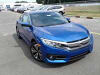 Boasts 41 Highway MPG and 30 City MPG! This Honda Civic