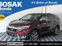 2018 Honda CR-V EX Basque Red Pearl 27/33mpg**It's