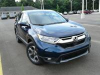 Boasts 34 Highway MPG and 28 City MPG! This Honda CR-V