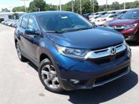 Scores 33 Highway MPG and 27 City MPG! This Honda CR-V