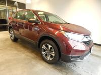 Scores 31 Highway MPG and 25 City MPG! This Honda CR-V
