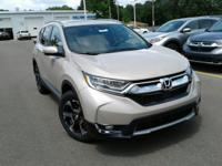 Boasts 33 Highway MPG and 27 City MPG! This Honda CR-V