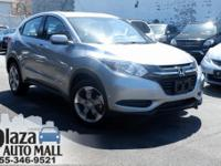 Recent Arrival! Certified. 2018 Honda HR-V LX Crystal