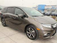 Brown 2018 Honda Odyssey Elite FWD 10-Speed Automatic