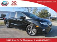 Recent Arrival! 2018 Honda Odyssey Touring Deep Scarlet