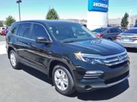 2018 Honda Pilot LX Black Forest Pearl AWD 6-Speed