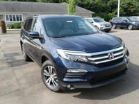 Boasts 26 Highway MPG and 18 City MPG! This Honda Pilot