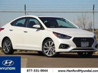 Frost White 2018 Hyundai Accent Limited FWD Automatic