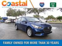 2018 Hyundai Accent SE FWD 6-Speed Automatic with