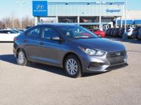 Recent Arrival! 2018 Hyundai Accent SEL FWD 6-Speed