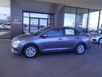 Urban Gray 2018 Hyundai Accent SE FWD 6-Speed Automatic