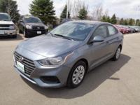 Urban Gray 2018 Hyundai Accent SE FWD Automatic 1.6L