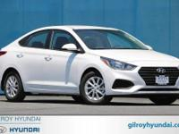 Frost White 2018 Hyundai Accent SEL FWD Automatic 1.6L