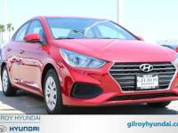 Red 2018 Hyundai Accent SE FWD Automatic 1.6L