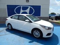 We are excited to offer this 2018 Hyundai Accent.
