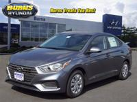 Urban Gray 2018 Hyundai Accent SE H21375 FWD Manual