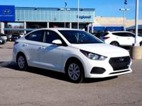 Recent Arrival! 2018 Hyundai Accent SE FWD 6-Speed