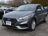 Gray 2018 Hyundai Accent SEL FWD 6-Speed Automatic with
