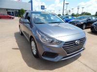 Gray 2018 Hyundai Accent SE FWD 6-Speed 1.6L I4 DGI