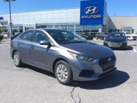 2018 Hyundai Accent SE Black Cloth. 38/28 Highway/City