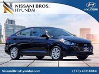 Black 2018 Hyundai Accent SE FWD Automatic 1.6L