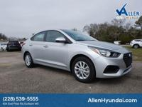 2018 Hyundai Accent SEL Silver Black Cloth. 38/28