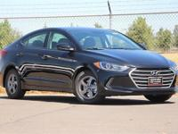 Phantom Black 2018 Hyundai Elantra Eco FWD 7-Speed
