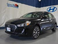 Black 2018 Hyundai Elantra GT FWD 6-Speed Automatic