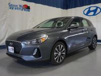Gray 2018 Hyundai Elantra GT FWD 6-Speed Automatic with