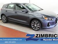 Elantra GT trim, SUMMIT GRAY exterior and BLACK