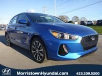 2018 Hyundai Elantra GT 4D Hatchback Electric Blue