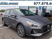 2018 Hyundai Elantra GT Summit White 32/24 Highway/City