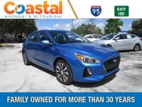 Blue 2018 Hyundai Elantra GT FWD 6-Speed Automatic with
