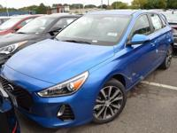2018 ELANTRA GT A/T in Electric Blue Metallic  17 x 7