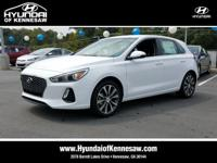 Ceramic White 2018 Hyundai Elantra GT FWD 6-Speed