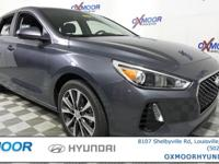 2018 Hyundai Elantra GT 32/24 Highway/City MPG 2.0L,