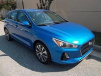 Electric Blue Metallic 2018 Hyundai Elantra GT  FWD