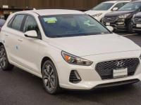 White 2018 Hyundai Elantra GT FWD 6-Speed Automatic