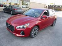2018 Hyundai Elantra GT Red WITH SOME AVAILABLE OPTIONS