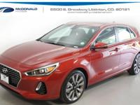This stunning 2018 Hyundai Elantra GT is the rare