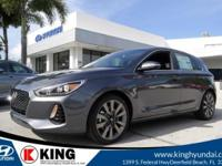 $999 off MSRP! 32/26 Highway/City MPG King Hyundai is