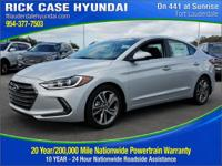 2018 Hyundai Elantra Limited  in Symphony Silver and 20