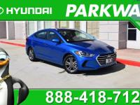 2018 Hyundai Elantra COME SEE WHY PEOPLE LOVE PARKWAY,