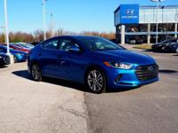 2018 Hyundai Elantra Limited FWD 6-Speed Automatic with