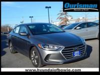 Machine Gray 2018 Hyundai Elantra SEL FWD 6-Speed