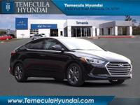 Phantom Black 2018 Hyundai Elantra 4D Sedan Value