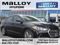 Recent Arrival! New Price!  Phantom Black 2018 Hyundai