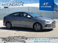 Gray 2018 Hyundai Elantra SEL FWD 6-Speed Automatic
