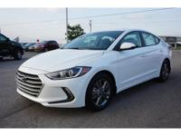 2018 White Pearl Hyundai Elantra Value Edition 6-Speed