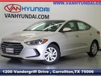 New Price! 2018 Hyundai Elantra SE 38/29 Highway/City